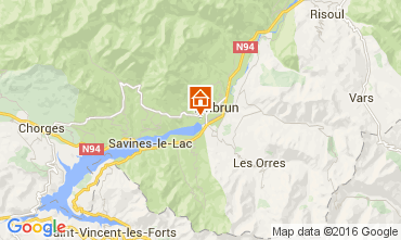 Map Embrun Apartment 103967