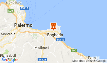 Map Palermo Apartment 112858