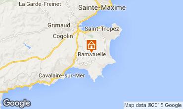 Map Ramatuelle Studio apartment 87690