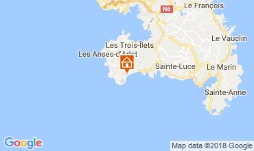 Map Le Diamant Studio apartment 115132