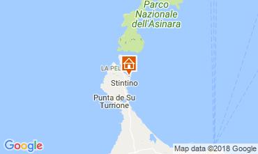 Map Stintino Apartment 114291