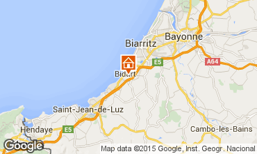 Map Biarritz Mobile home 41831