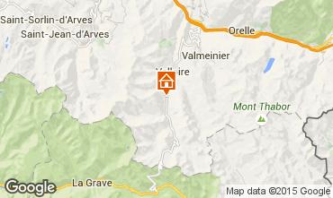 Map Valloire Apartment 50293