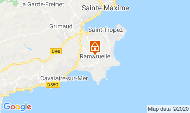 Map Saint Tropez Mobile home 108259