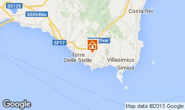 Map Solanas Villa 52619