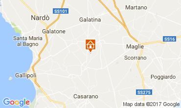 Map Marina di Mancaversa Villa 107792