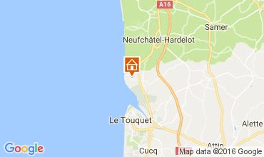 Map Le Touquet House 80399