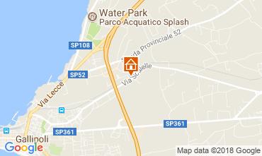 Map Gallipoli Apartment 95183