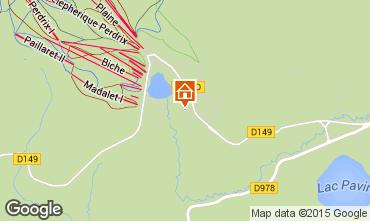 Map Besse - Super Besse Chalet 67212