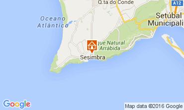 Map Sesimbra Apartment 70999
