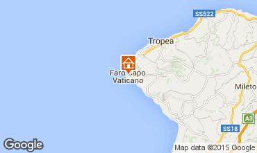 Map Capo Vaticano Apartment 93370