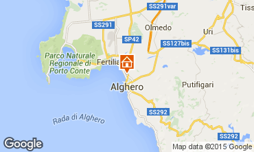 Map Alghero Apartment 79617