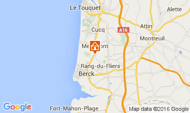 Map Berck-Plage House 105068