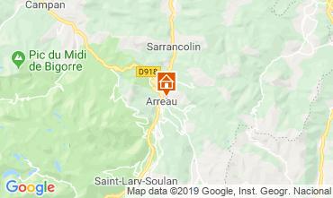 Map Saint Lary Soulan House 95270
