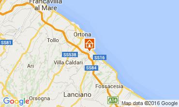 Map Ortona Apartment 103520