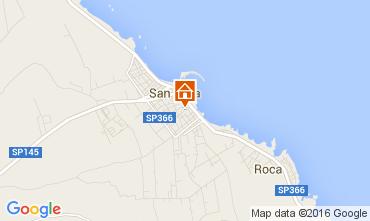 Map San Foca Apartment 94580