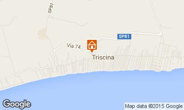 Map Triscina Villa 99407