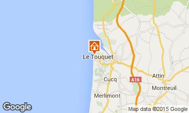 Map Le Touquet Apartment 101892