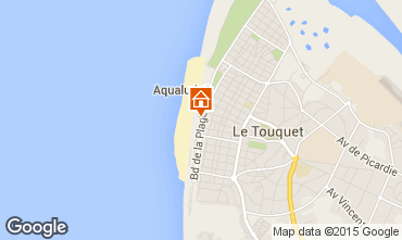 Map Le Touquet Apartment 101892
