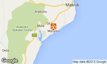 Map Malindi Villa 33970