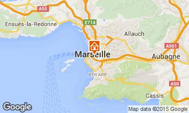 Map Marseille Studio apartment 5953