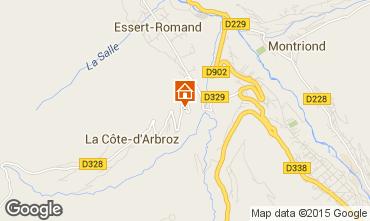 Map Morzine Chalet 80713