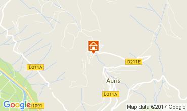 Map Le Bourg-d'Oisans Apartment 112032