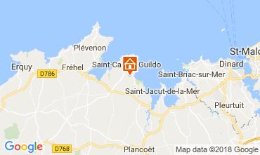 Map Saint Cast Le Guildo House 113632