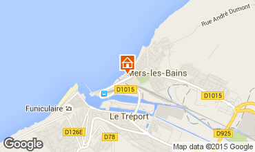 Map Mers Les bains Studio apartment 58355