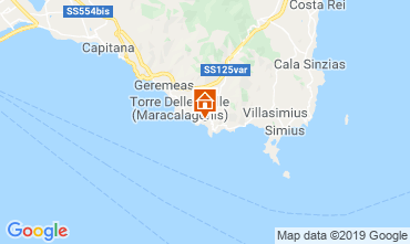 Map Solanas Villa 95781
