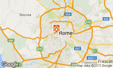 Map Rome Apartment 43575