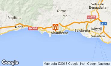 Map Almuñecar Apartment 74354