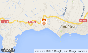 Almunecar Spain Map.Almunecar Holiday Rentals 1 Last Minute Offers Currently Available