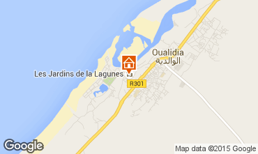 Map Oualidia Villa 76549