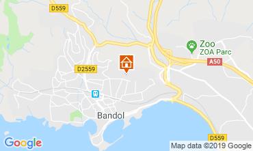 Map Bandol Apartment 108623