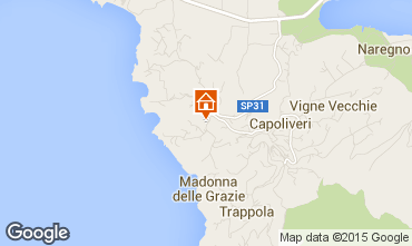 Map Capoliveri Apartment 77736