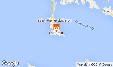 Map Quiberon Apartment 50989