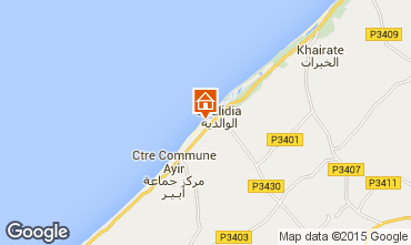 Map Oualidia Apartment 42742