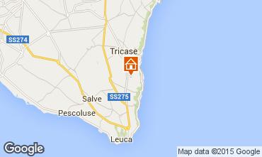 Map Santa Maria di Leuca Studio apartment 68226