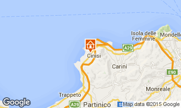 Map Terrasini Villa 72013
