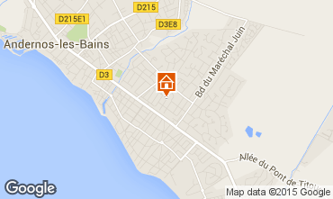 Map Andernos les Bains House 10182
