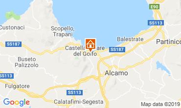 Map Castellammare del Golfo Villa 103445