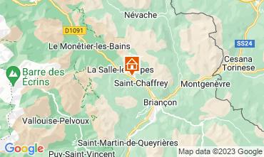 Map Serre Chevalier Apartment 117911