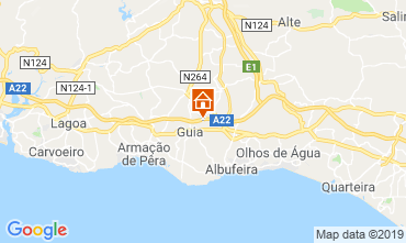 Map Albufeira Villa 118399