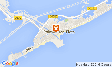 Map Palavas-les-Flots Flat 104876