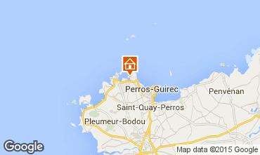 Map Perros-Guirec Studio apartment 16295