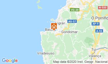 Map Baiona Apartment 47354