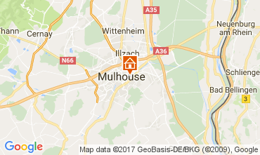Map Mulhouse Apartment 107705