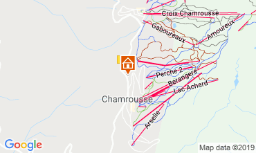 Map Chamrousse Chalet 742