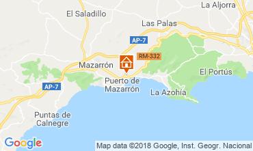 Map Puerto de Mazarrón Bungalow 117322
